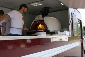 Tag der offenen Tür Pizza-Truck