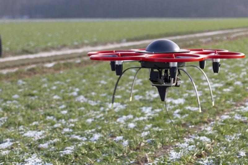 Automatisierter Drohnenflug mittel Bildverarbeitung