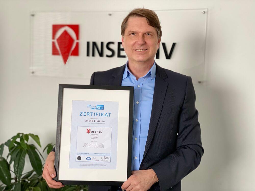 Christian Gieselmann insensiv ISO-Zertifizierung (DIN EN ISO 9001)