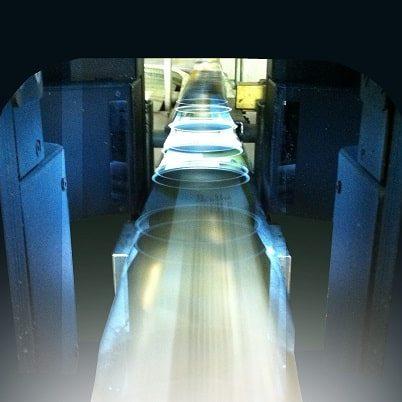 insensiv Bildverarbeitungslösungen 360° Scan Inline Inspektions System