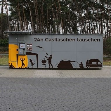 insensiv Bildverarbeitungslösungen GasflaschenTauschAutomat