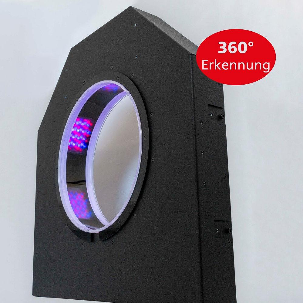 insensiv 360° Ausleseeinheit für Rücknahmeautomaten in Pfandsystemen
