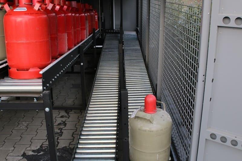 insensiv GasflaschenTauschAutomat Annahmebahnen