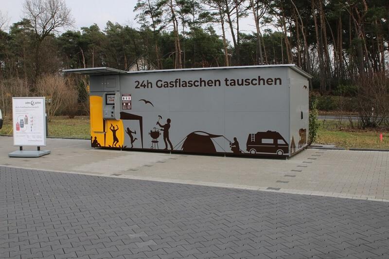 insensiv GasflaschenTauschAutomat Außenansicht