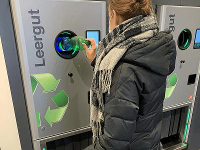 insensiv Komponenten für Rücknahmeautomaten