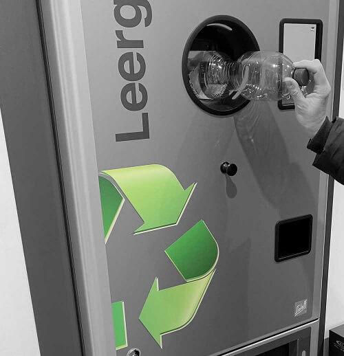 insensiv Flaschenkonturerkennung Recyclinginitiativen