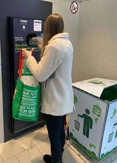 insensiv recognition technology for reverse vending machines